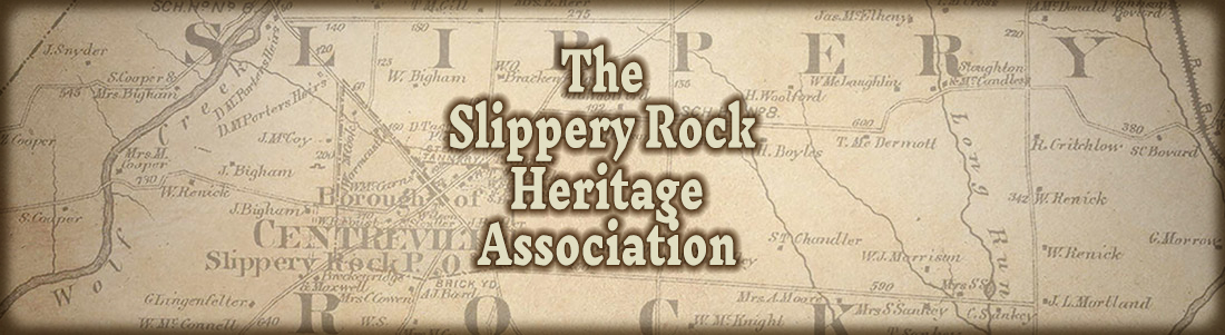 The Slippery Rock Heritage Association - Page header image