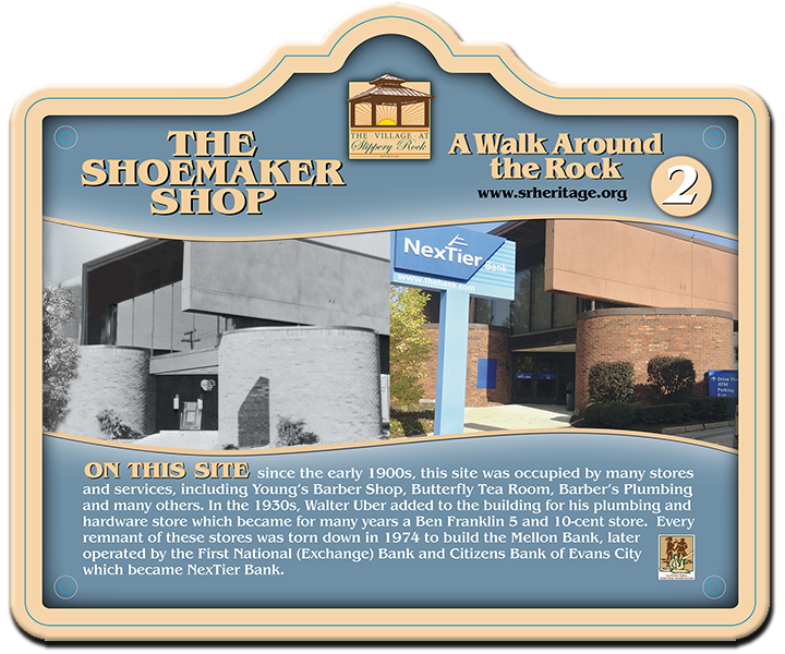 Walk Around the Rock stop #2 The Shoemaker