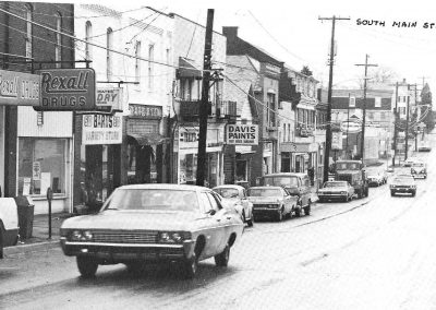 Main Street in the 1970's