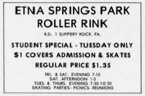 etna springs 1972 ad