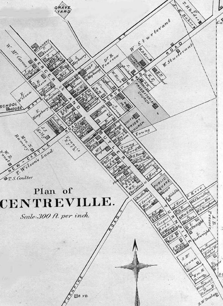 map of centreville