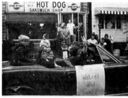 SRU Homecoming 1972 Pres Watrell & fam (see Facebook)