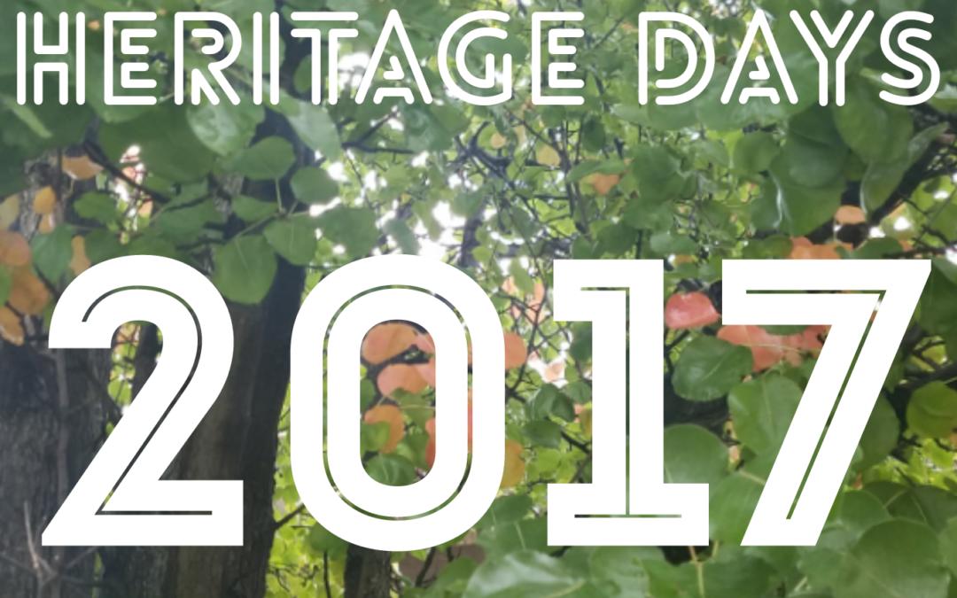Heritage Festival Schedule