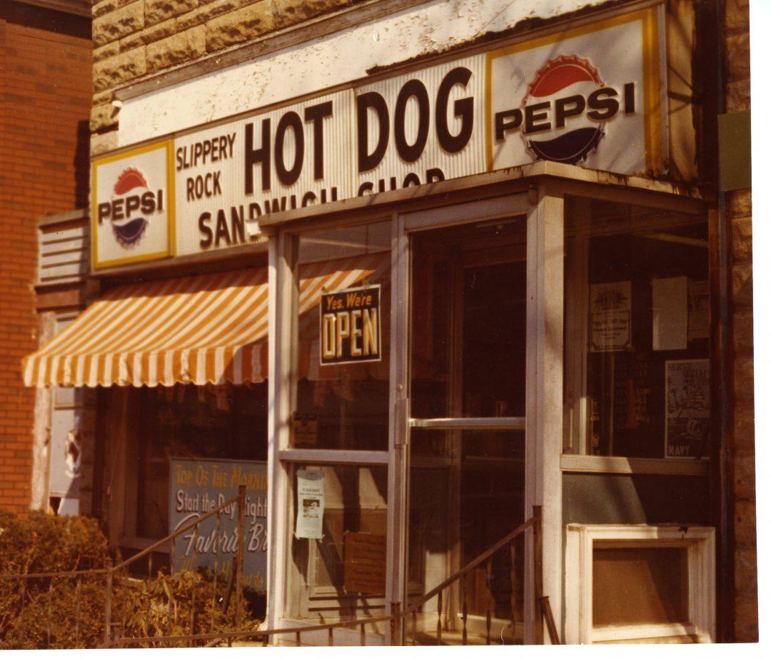 the hot dog shop slippery rock heritage association. Black Bedroom Furniture Sets. Home Design Ideas